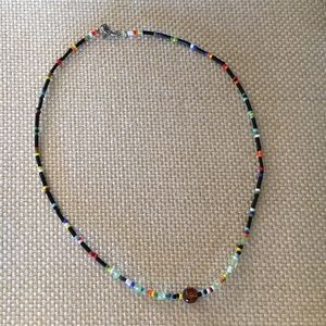 "Jewelry - 14"" Boho Beaded Choker"